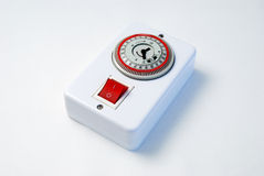 Switch timer Royalty Free Stock Photography