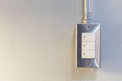 Switch turn on/off Royalty Free Stock Photography
