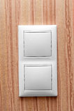 Switch on the wall Royalty Free Stock Image