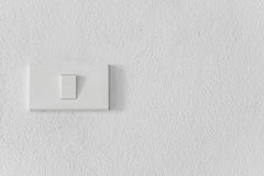 Switch on the wall Royalty Free Stock Photography