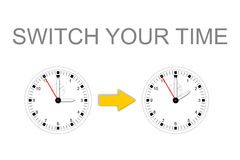 SWITCH YOUR TIME Royalty Free Stock Photography