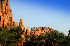 Switchback -Disneyland Paris Royalty Free Stock Photos