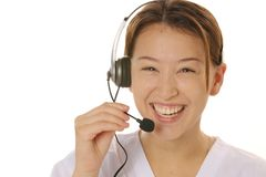 Switchboard operator Stock Images