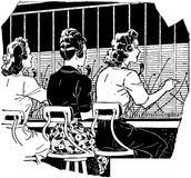 Switchboard Operators 2 Royalty Free Stock Images