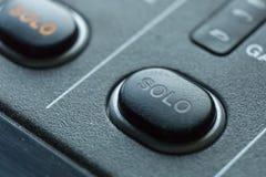 Switcher звукового производства передачи телевидения Стоковые Фото