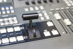 Switcher controlling Royalty Free Stock Photos