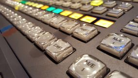 Switcher of Television Broadcast2 Stock Photo