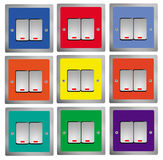 Switches  Control Royalty Free Stock Photos