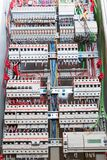 Switchgear cabinet Royalty Free Stock Photos