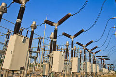 Switchyard and Electricity Stock Photography