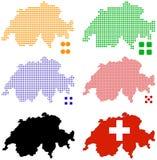 Switzerland Ilustração Stock