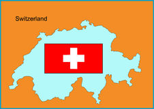 switzerland Royaltyfri Bild