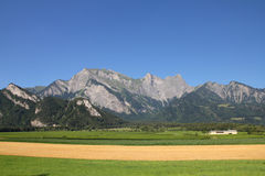 Switzerland agriculture royalty free stock photo
