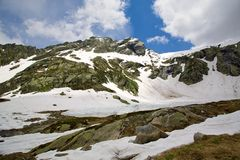 Switzerland Alps Royalty Free Stock Photos
