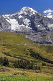 Switzerland alps. Beautiful mountain in the Alps, Switzerland Royalty Free Stock Image
