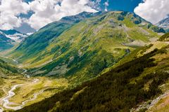 Switzerland Alps Landscape Royalty Free Stock Images