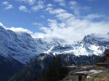 Switzerland Alps. View of the alps in Switzerland stock images