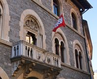 Switzerland, Bellinzona government building Royalty Free Stock Photos