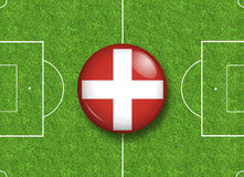 Switzerland button Royalty Free Stock Images