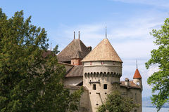 Switzerland - Chateau de Chillon Royalty Free Stock Photos