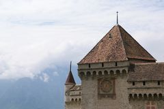 Switzerland - Chateau de Chillon Royalty Free Stock Photo