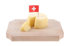 Switzerland cheese Royalty Free Stock Images