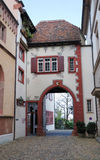 Switzerland courtyard in Basel Royalty Free Stock Photography