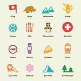 Switzerland elements Stock Image