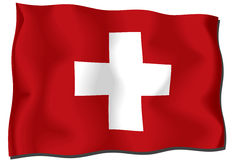Switzerland Flag Royalty Free Stock Images