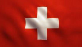 Switzerland Flag Royalty Free Stock Images