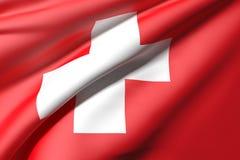 Switzerland flag Royalty Free Stock Photography
