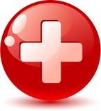 Switzerland Flag Icon. Stock Image