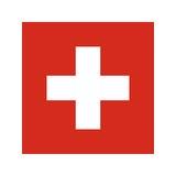 Switzerland flag illustration Stock Photo