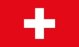Switzerland Flag. Switzerland Flag vector background. Switzerland Flag. Flag of Switzerland vector illustration Royalty Free Illustration