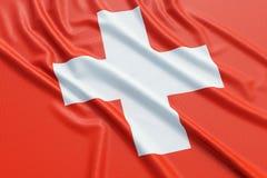Switzerland flag Stock Photography