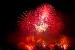 Switzerland - Geneva  fireworks Stock Image