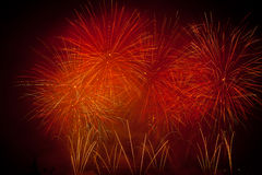 Switzerland - Geneva  fireworks Royalty Free Stock Photos