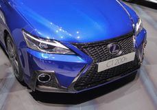 Free Switzerland; Geneva; March 8, 2018; Lexus CT 200h Front; The 88th International Motor Show In Geneva From 8th To 18th Of March, 2 Stock Images - 118352164