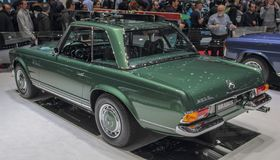 Switzerland; Geneva; March 9, 2019; Brabus Classic, Mercedes-Benz 280 SL Pagoda; The 89th International Motor Show in Geneva from. 7th to 17th of March, 2019 stock photos