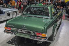 Switzerland; Geneva; March 9, 2019; Brabus Classic, Mercedes-Benz 280 SL Pagoda; The 89th International Motor Show in Geneva from. 7th to 17th of March, 2019 stock photo