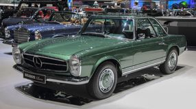 Switzerland; Geneva; March 9, 2019; Brabus Classic, Mercedes-Benz 280 SL Pagoda; The 89th International Motor Show in Geneva from. 7th to 17th of March, 2019 royalty free stock photos