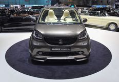 Switzerland; Geneva; March 8, 2018; Front of Brabus Ultimate 125. The 88th International Motor Show in Geneva from 8th to 18th of March, 2018 Stock Photo