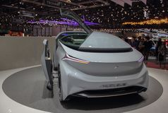 Switzerland; Geneva; March 8, 2018; Nucleus concept car; the 88th International Motor Show in Geneva from 8th to 18th of March, 2. 018 stock images