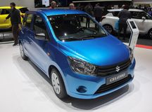 Switzerland; Geneva; March 8, 2018; Suzuki Celerio; The 88th Int. Ernational Motor Show in Geneva from 8th to 18th of March, 2018 stock photography
