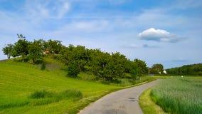 Switzerland landscape,Bülach stock photography