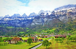 St Gallen canton landscape Switzerland stock images