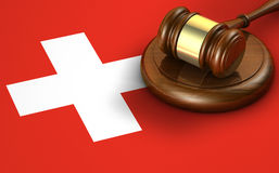 Switzerland Law Legal System Concept Stock Image