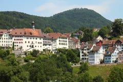Switzerland - Lichtensteig Stock Photos