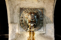 Switzerland , Luzern: Nice fountain Royalty Free Stock Image