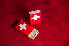 Switzerland matches Stock Photo